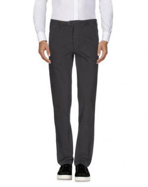 Повседневные брюки JEY COLE MAN. Цвет: стальной серый