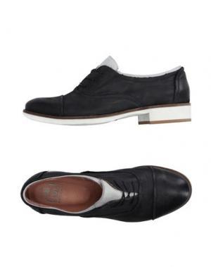 Обувь на шнурках HANGAR. Цвет: стальной серый