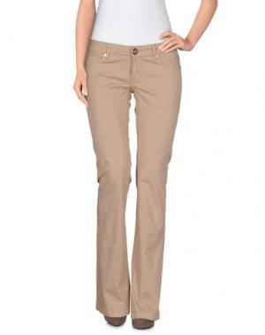 Повседневные брюки ATELIER FIXDESIGN. Цвет: голубиный серый