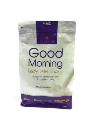 Протеин OLIMP Good Morning Lady a.m. protein shake (шоколад) 720 г Nutrition. Цвет: белый,темно-фиолетовый