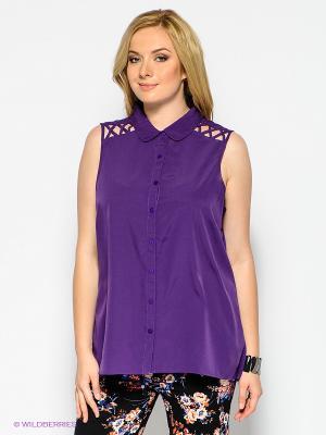 Блузка New Look. Цвет: фиолетовый