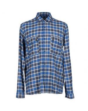 Pубашка M.GRIFONI DENIM. Цвет: ярко-синий