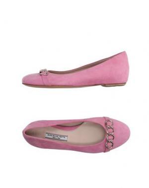 Балетки GUGLIELMO ROTTA. Цвет: розовый