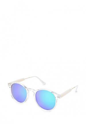 Очки солнцезащитные Mascotte. Цвет: белый