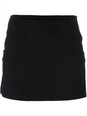 Короткая юбка Hache. Цвет: чёрный
