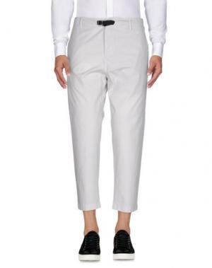 Повседневные брюки ..,BEAUCOUP. Цвет: светло-серый