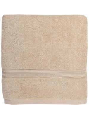 Полотенце банное 70*140 Bonita Classic, махровое, Бисквит. Цвет: светло-бежевый