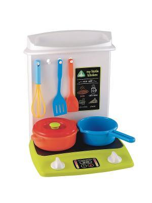 Игровой набор Кухня ELC. Цвет: белый, голубой, красный, салатовый