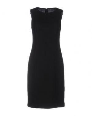 Платье до колена FABRIZIO LENZI. Цвет: черный