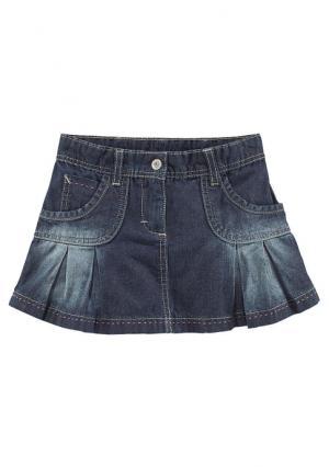 Джинсовая юбка KIDOKI. Цвет: темно-синий