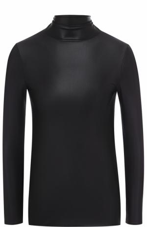 Облегающая водолазка с открытой спиной Balenciaga. Цвет: черный