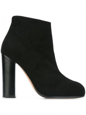 Ботинки на каблуке Jean-Michel Cazabat. Цвет: чёрный