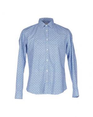 Pубашка ALTEA DAL 1973. Цвет: лазурный