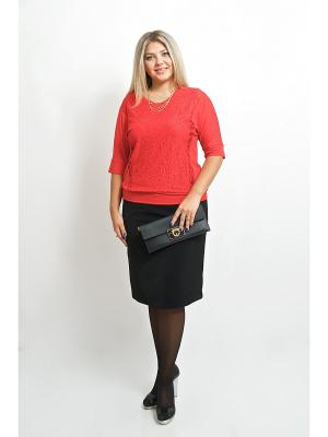 Блуза BALSAKO. Цвет: красный