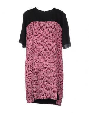 Короткое платье RICHARD NICOLL. Цвет: светло-фиолетовый