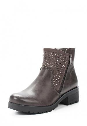Ботинки Max Shoes. Цвет: серый