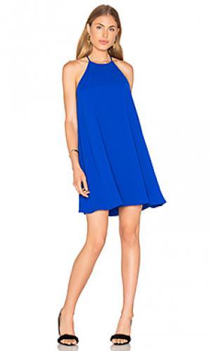 Платье violet Amanda Uprichard. Цвет: королевский синий