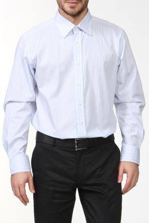 Рубашка REIKARTZ. Цвет: белый, голубой