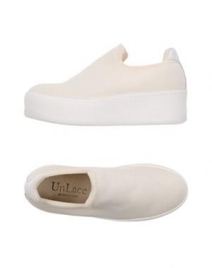 Низкие кеды и кроссовки UNLACE. Цвет: белый