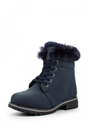 Ботинки Ideal. Цвет: синий
