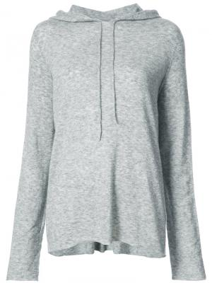 Dina hoodie The Row. Цвет: серый