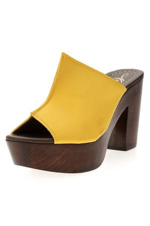 Clogs PRATIVERDI. Цвет: yellow