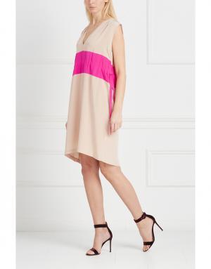 Платье Thakoon. Цвет: бежевый