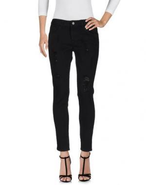 Джинсовые брюки HOPE COLLECTION. Цвет: черный