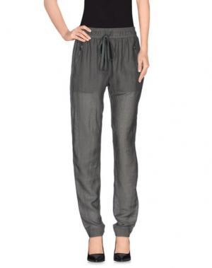 Повседневные брюки ENZA COSTA. Цвет: зеленый-милитари