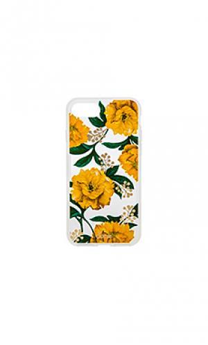 Чехол для iphone 7 poppy Sonix. Цвет: желтый