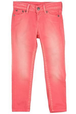 Джинсы прямого кроя Pepe Jeans. Цвет: розовый