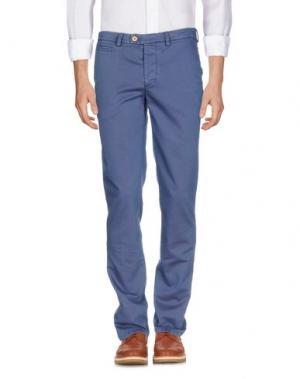 Повседневные брюки PIATTO. Цвет: синий