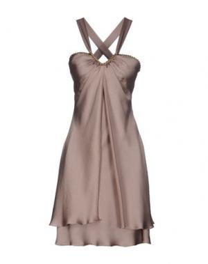 Короткое платье SOOZ by ISABEL C.. Цвет: хаки