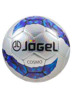 Мяч футбольный Jоgel JS-300 Cosmo №5 Jogel. Цвет: светло-серый