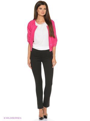 Кожаная куртка SUSSEX. Цвет: розовый, красный