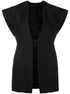 Структурированная куртка Rick Owens. Цвет: чёрный