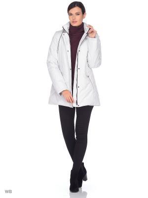 Куртка MELINA Maritta. Цвет: молочный