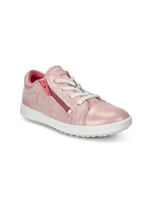 Кеды ECCO. Цвет: розовый