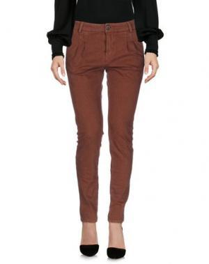 Повседневные брюки GOOD MOOD. Цвет: ржаво-коричневый