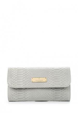 Клатч Trussardi Collection. Цвет: серый