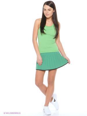 Майка спортивная NP CL TANK Nike. Цвет: зеленый