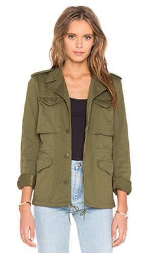 Куртка skinny m-43 NLST. Цвет: зеленый