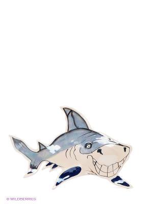 Панно настенное Акула Blue Sky. Цвет: кремовый, синий