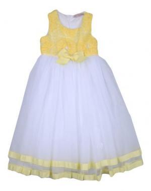 Платье MISS BLUMARINE. Цвет: желтый