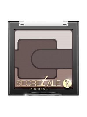 Тени Для Век Разноцветные Secretale Eyeshadow Kit Тон 1 Bell. Цвет: коричневый