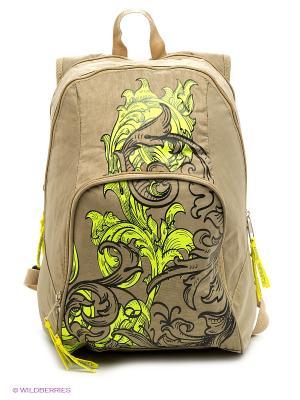 Рюкзак UNION. Цвет: бежевый, розовый