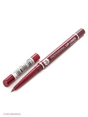 Карандаш для губ Professional Lip Liner Pencil, тон 14 Bell. Цвет: красный