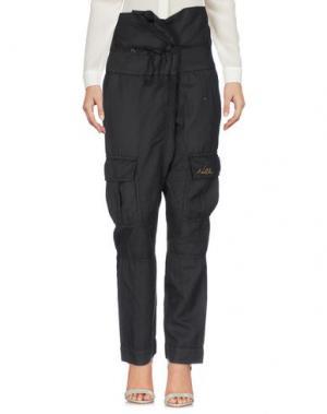 Повседневные брюки NOLITA. Цвет: стальной серый