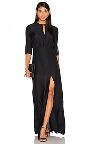 Вечернее платье beckman PFEIFFER. Цвет: черный
