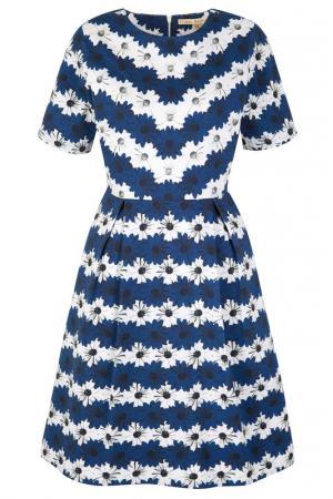 Платье Uttam Boutique. Цвет: navy